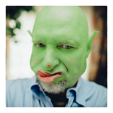 Fotograf ślubny - Shrek