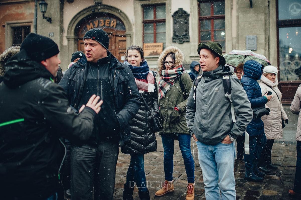 fotografia: Zimowy Lwów. (014)